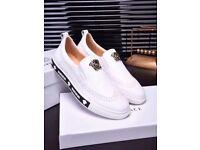 Luxury Versace medusa mens sneakers size 8 (42)