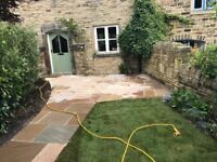 Labours and block paving and patio laying