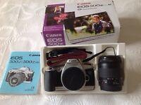 Canon E0S 500N 35mm Film