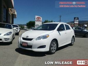 2009 Toyota Matrix B PAC  - KEYLESS ENTRY - Low Mileage