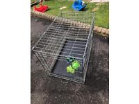 Savic dog cage with the tray in great condition £20