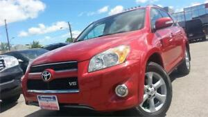 2010 Toyota RAV4 Limited /V6/AWD/LEATHER/BACK-UP CAM/S-ROOF