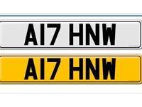 PRIVATE REGISTRATION A17HNW