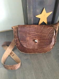 Priced to sell!  Crossbody leather purse ( never used)