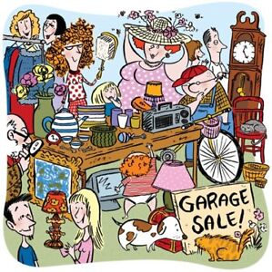 Garage sales for many items
