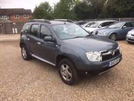 2013 DACIA DUSTER LAUREATE1.5 DCI 4WD DIESEL 6 SPEED