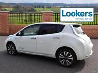 Nissan Leaf TEKNA (white) 2015-07-22