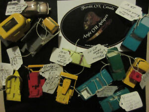 DINKY TOYS, MATCHBOX BY LESNEY, DIE CAST CARS & MORE!