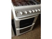 Hot point Gas cooker 50cm.....Mint free delivery