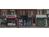Large double front shop for rent long lease available