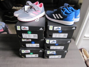 adidas Running Shoes, Boys sz .1 & Girls sz 2, Br. New in Box