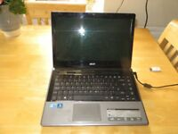 ACER ASPIRE 4820T WITH I3 PROCESSOR. WINDOWS 10