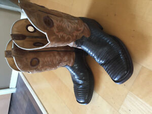 PRICE REDUCED:  Cowboy Boots Just in time for Stampede
