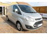 2016 FORD TRANSIT CUSTOM 290 TDCI 130 L1 H1 LIMITED SWB LOW ROOF VAN SWB DIESEL