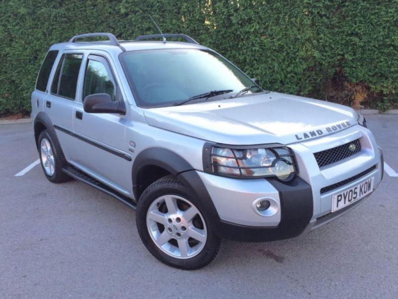 2005 05 LAND ROVER FREELANDER 1.8 HSE STATION WAGON 5D 116 BHP