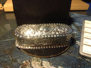 Grand Large Antique English Sterling Silver Box