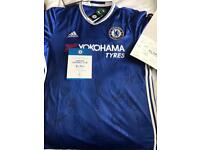 Signed Chelsea FC Football Shirt