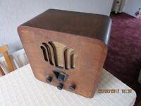 Philips Vintage Valve Radio