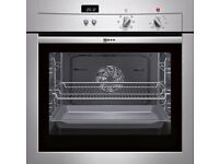 Neff Series 3 B14M42N3GB Electric Single Oven - Stainless Steel