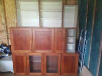Kichen wall cabinets