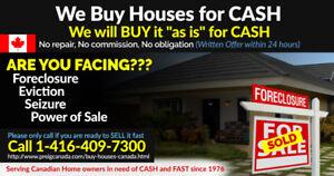 We buy Houses for CASH in Fraser