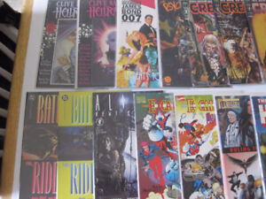 30 extra thick prestige style comics from the 90s