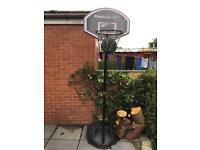 Reebok Basketball Net and Ball