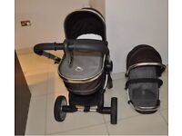 Icandy Peach Blossom Pushchair / Stroller Travel System