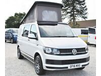 2016 Volkswagen VW Transporter T6 102 ps Pop Top Conversion Camper Campervan