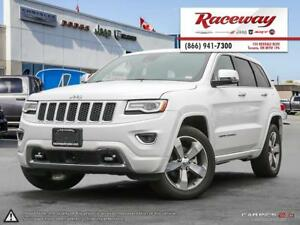2016 Jeep Grand Cherokee Overland | 4X4 |TOUCHSCREEN | LEATHER |