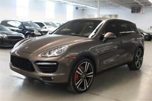 2014 Porsche Cayenne Turbo/LANE CHANGE ASSIST/ENTRY&DRIVE/PANO/B