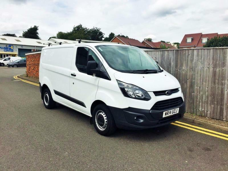 2014 Ford Transit Custom 2.2 TDCi 290 L2H1 Panel Van 3dr 1 OWNER 71K