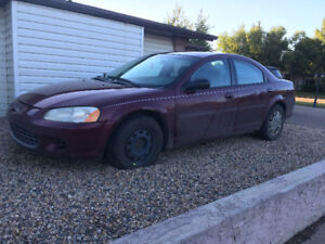 2002 Chrysler Sebring Sedan parts car