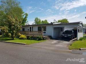 Homes for Sale in Sidney Ward, Quinte West, Ontario $159,000