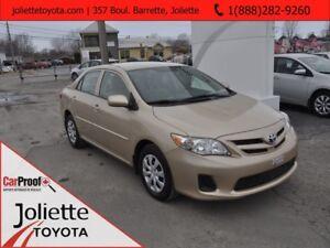 2013 Toyota Corolla CE Commodité amélioré