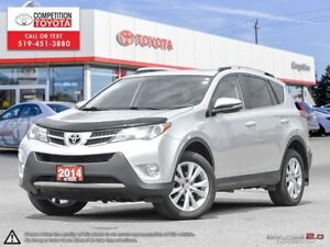 2014 Toyota RAV4 Limited One Owner, No Accidents, Toyota Serv...