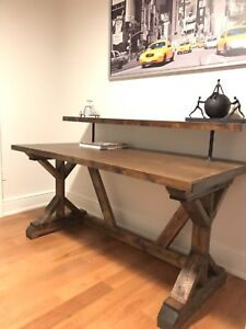 Rustic custom office / computer desk - many styles