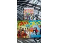 Glee boxsets Season 1 volume 2, season 2 volume 1 and complete season 3