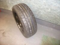 Vauxhall Insignia new steel wheel and tyre