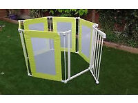 mothercare playpen with gate