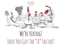 Absurd Bird Guildhall - Assistant Manager 21k-23k plus benefits