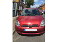 Toyota Yaris 1ltr 5 dr, reliable