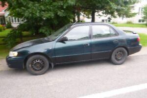 1999 Toyota Corolla tissu Berline