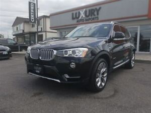 2016 BMW X3 XDRIVE-NAV-CAMERA-24K