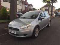 REDUCED Fiat Punto Grande 1.4 16v Eleganza 5dr, 6 Speed, Alloys, £1595 ono