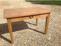 Lovely Old Pine Kitchen Table