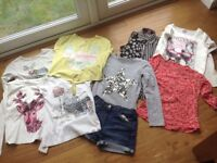 Girls clothes bundle age 9-10 Summer/Autumn £10