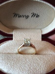 Gently used engagement ring