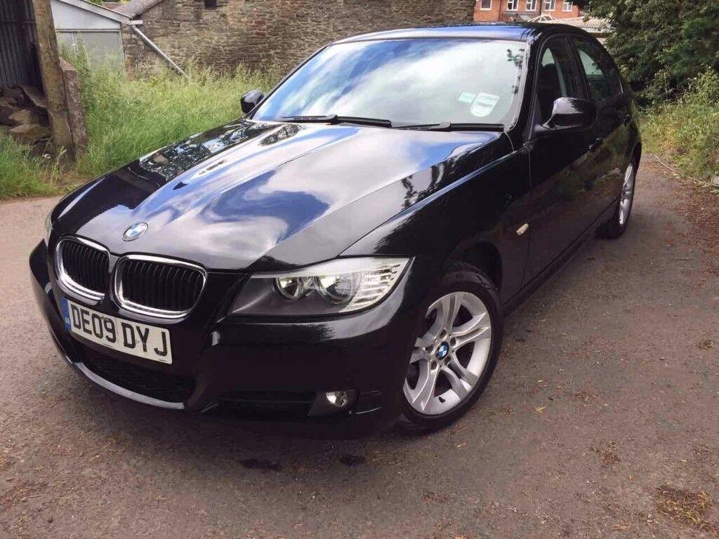 2009 BMW 318i 143 BHP Black Manual 07913759872