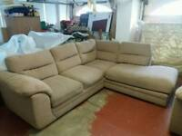 Corner sofa and two seater